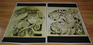 JAPANESE TATTOO FLASH ORIENTAL SLEEVE ART 2O SHEETS