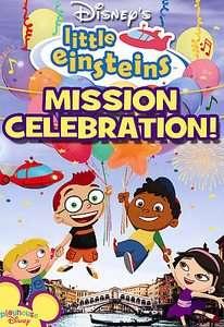 Little Einsteins   Mission Celebration (DVD, 2006, Spanish Dubbed