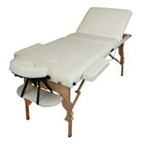 Wood Portable Massage Table For Body Worker Energy Healer Salon Tattoo