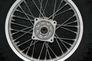 Suzuki RM85 RM 85 80 Rear Wheel Hub Rim Spokes OEM