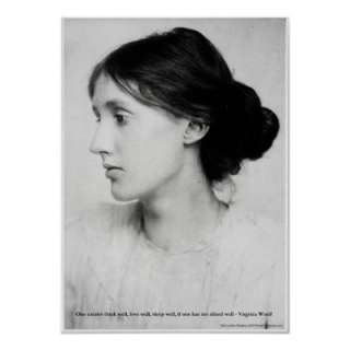 Virginia Woolf Love Well Love Quote Posters by lovequoteshoes