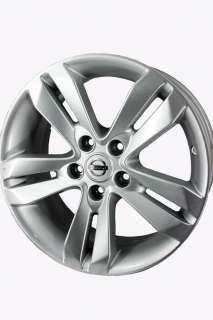 OEM Alloy 2010 2012 17x7.5 NIssan Altima Wheels   62552 40300ZX01B