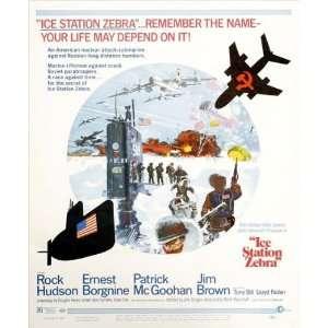 27x40 Rock Hudson Ernest Borgnine Patrick McGoohan
