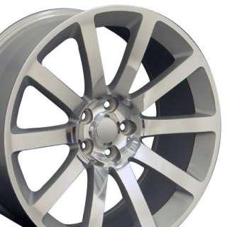 20 Rim Fits Chrysler 300 SRT Wheel Silver 20x9