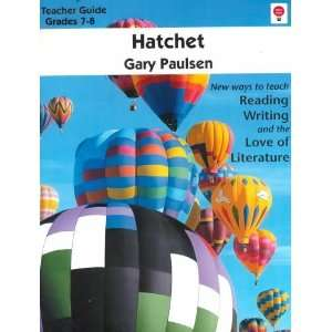 NOVEL UNITS HATCHET [Paperback] Gary Paulsen Books