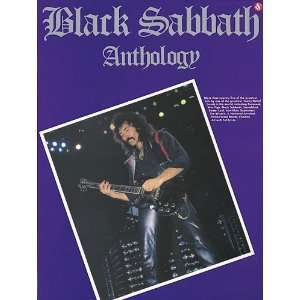 Black Sabbath Anthology   Guitar Songbook with Notes and TAB