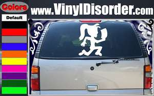 ICP Hatchet Girl Band Vinyl Car Wall Decal Sticker LG