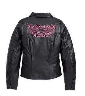 Harley Davidson Ladies Blissful Leather Jacket