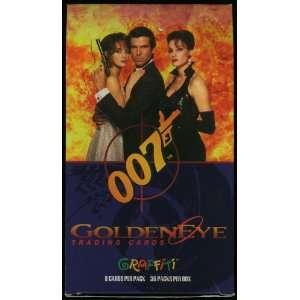 Movie Trading Cards Box (empty): Pierce Brosnan, Famke Janssen: Books