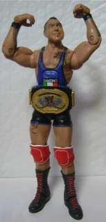 WWE Intercontinental action figure belt PAINTED Mattel Elite Cody