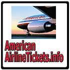 American Airline Tickets.info TRAVEL/AIRLINES/FLIGHT/VOUCHER