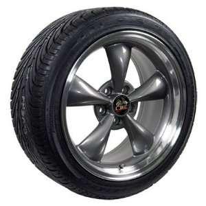 18 Fits Mustang (R) Bullitt   Bullet Style Wheels tires   Anthracite