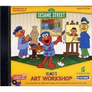 SESAME STREET ELMOS ART WORKSHOP Software