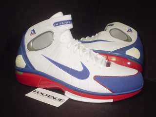 2004 Nike Air Zoom Huarache 2K4 KOBE BRYANT LA ALL STAR RED WHITE BLUE