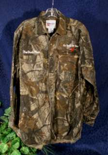WRANGLER PRO GEAR Realtree Hardwood Camouflage Shirt XL