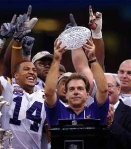 LSU TIGERS 2001 DEFENSE FOOTBALL PLAYBOOK *NICK SABAN*