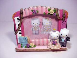 Hello Kitty Dear Daniel Wedding Picture Frame Piano 4 X 6