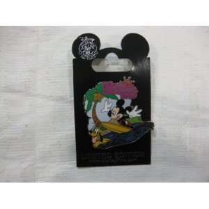 Disney Pin First Day of Summer 2010 Mickey and Pluto