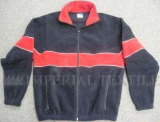 NWT NEW FLEECE JACKET COAT RED BLACK EXTRA SMALL XS