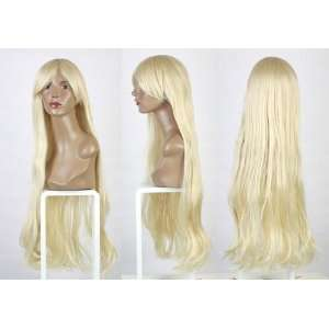 resist Chobits Cosplay Theater Wig   light blond