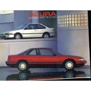 Honda Acura Legend and Integra Catalog 1998. Catalogue