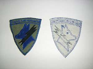 0814 Vietnam Dog patch USAF Military Working Dog