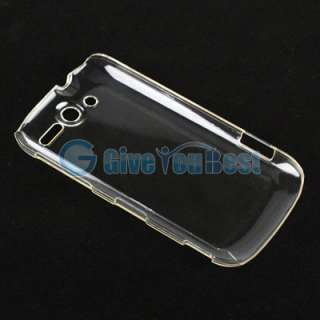 Clear Crystal Hard Plastic Phone Case Cover Skin For HTC MyTouch 4G