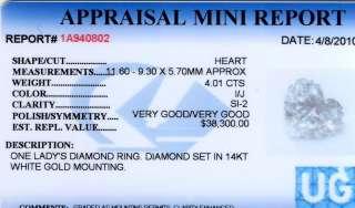 04 CARAT HEART SHAPE DIAMOND ENGAGEMENT RING
