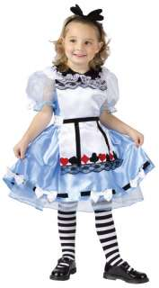 Child Small Toddler and Girls Alice in Wonderland Costu
