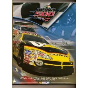 2003 Daytona 500 Nascar Program Michael Waltrip win NASCAR Books