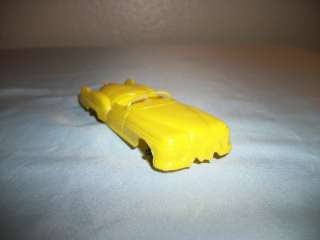 VTG 50S MARX PLASTIC CAR 4 TRAIN STATION TIN GAS SERVICE STATION