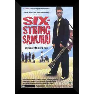 The Six String Samurai 27x40 FRAMED Movie Poster   A: Home