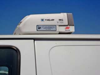 FORD REFRIGERATED VAN DIESEL reefer cargo truck Thermo insulated meat