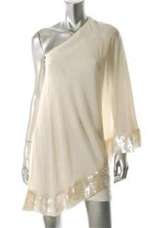 JB by Julie Brown NEW Ivory Versatile Dress Sequin Sale S