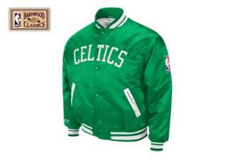 BOSTON CELTICS Mitchell & Ness NBA Satin Jacket 4XL