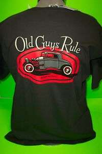 OLD GUYS RULE    RAT ROD     TEE SHIRTS