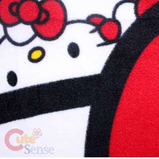 Sanrio Hello Kitty Plush Doll Fleece Blanket  40 x 50 Throw with 15