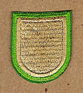 600th AIRBORNE QUARTERMASTER COMPANY BERET FLASH PATCH