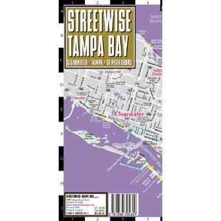 Streetwise Tampa Map   Laminated City Center Street Map of Tampa