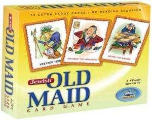 Jewish Old Maid Card Game   Beautiful Characters.