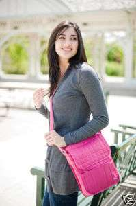 LUG MOPED DAY PACK TRAVEL TOTE BAG NEW ROSE PINK