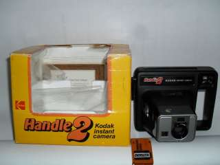Kodak Handle 2 Instant Camera in Box with Battery