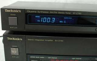 Technics SU Z760 Integrated Amplifier ST Z760 Tuner ~ Free Shipping