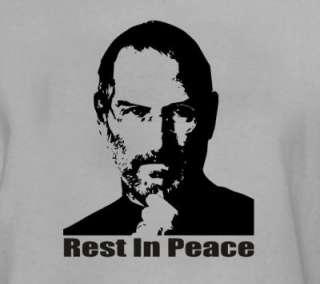 Steve Jobs Memorial T Shirt Gray All Sizes