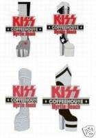 KISS Coffeehouse 4 boot pin set
