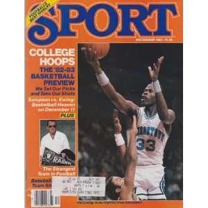 Patrick Ewing (Sport Magazine) (December 1982) (Al Davis) (Ralph