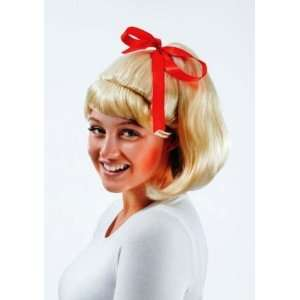 50s Highschool Prom Fancy Dress Wig Inc FREE Wig Cap Toys