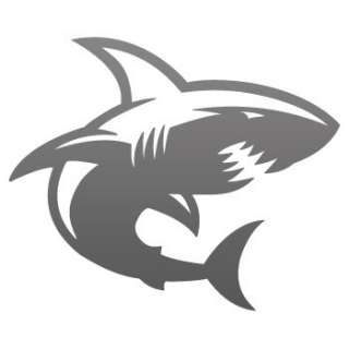 Scuba Dive Decal Sticker Cartoon Vinyl Shark ZZ7W8