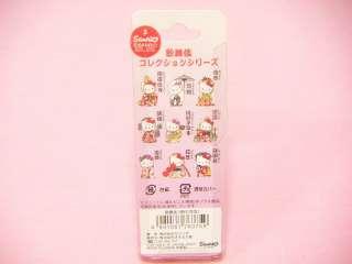 Sanrio Hello Kitty Japanese Kabuki Hanagasa Netsuke Strap / Japan