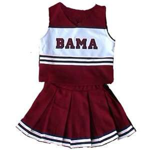 Alabama Crimson Tide NCAA Cheerdreamer Two Piece Uniform